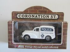 LLEDO CORONATION STREET Morris Minor Van Tile Street Police diecast model /L13