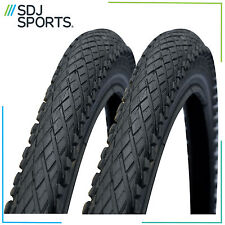 2x SCHWALBE IMPAC CROSSPAC 26 X 2.0 SEMI SLICK MOUNTAIN BIKE MTB TIRES (1 PAIR)