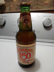 Vintage Texas Lonestar 150 Sesquicentennial Heileman Advertising Beer Bottle NOS