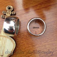5pcs 18mm Fashion Jewelry Scarf Rings Charm Tibet Silver Pendants Accessory 7559