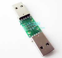10PCS USB to DIP Converter Adapter 4pin for 2.54mm PCB Board DIY Power Supply