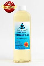 SAFFLOWER OIL ORGANIC by H&B Oils Center HIGH OLEIC COLD PRESSED 100% PURE 16 OZ