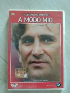 DVD genere biografico - A modo mio - Alessandro Zanardi