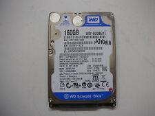 """WD Scorpio Blue 160gb WD1600BEVT-80A23T0 2061-771672-F04 AA 2,5"""" SATA"""