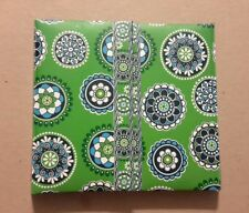Vera Bradley Duly Noted Take Note Collection Desk Set In Green Cupcakes Retired