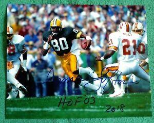 JAMES LOFTON autographed color 8x10 glossy