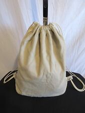 GAP Medium Sized Khaki Canvas Backpack/Knapsack/Slingback Handbag