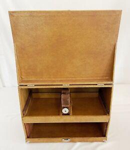 """Vintage Pachmayr """"Sure Grip"""" Super Deluxe Gun Pistol Case Range Box Lok-Grip USA"""