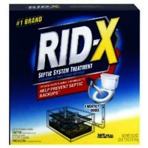 WMU Rid-X Septic System Treatment 39.2oz Box