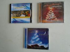Lot 3 Mannheim Steamroller Christmas CDs-1 NIP 2 Used