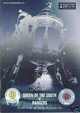 2008 SCOTTISH CUP FINAL - RANGERS v QUEEN OF THE SOUTH