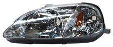 for 1999 2000 Honda Civic Sedan Coupe H/B LH Left Driver Headlamp Headlight