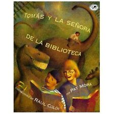 Tomas y la Senora de la Biblioteca by Pat Mora (1997, Paperback)