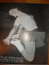 Photo UK Junior figure skater Toni Congdon 1950