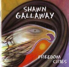 """Shawn GALLAWAY """" Freedom cries """" (CD) 1995"""