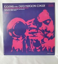 Together: A New Chuck Mangione Concert vinyl 2 record set