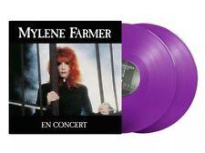 Mylene Farmer En concert Double Vinyle Couleur Edition Limitée 1000 exemplaires