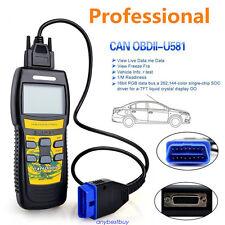 U581 Profession Super Diagnostic Scan Tool Can OBDII OBD2 Code Scanner Reader#