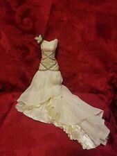 "Disney Store Princess Tiana Wedding Doll Dress ""The Princess & The Frog"""