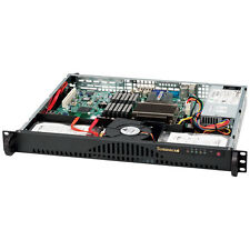 Supermicro 1U Server 512L-200B E3-1231v3 X10SSL-F 8GB DDR3 120GB SSD