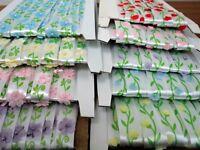 5 Yds Flower Tulip Bead Satin Trim Wedding Applique Sewing Craft DIY Ribbon