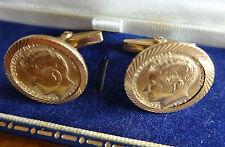 JFK Coin Cufflinks Manschettenknöpfe 18K/ 22K gold (750 und 900 Gold)