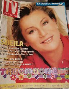 Sheila magazine la voix du Nord. 2012.