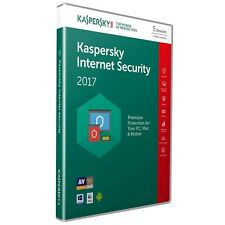 Kaspersky Internet Security 2017 5PC/1YEAR / Full Version / Download / Email