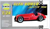 SMER Alfa Romeo Alfetta 1950, historischer Formel 1 Rennwagen, Bausatz 1:24