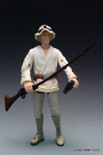 STAR WARS Luke Skywalker POTF2 COLLECTION FARMBOY FLASH BACK LOOSE