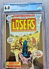 Our Fighting Forces #147 feat Losers CGC graded 6.0 FN 1974 Bronze Age DC Comic