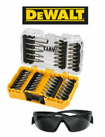 DEWALT DT70703-QZ EXTREME SCREWDRIVER BIT SET 47 PCS CASE INC SAFETY GLASSES
