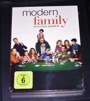 MODERN FAMILY DIE KOMPLETTE STAFFEL 6 DVD IM SCHUBER SCHNELLER VERSAND NEU & OVP