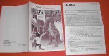 Notice Secret Quest [PAL] Atari 2600 NO Super Nintendo *JRF*