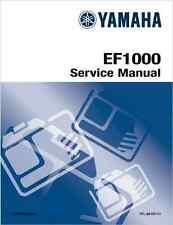 YAMAHA EF1000 generatore manuale di servizio 1995 - (B153)