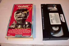 Asylum (VHS) Horror Movie Peter Cushing Britt Ekland
