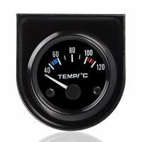 """2"""" 52mm Universal Car Van Digital LED Water Temp Temperature Gauge Kit 40~120℃."""