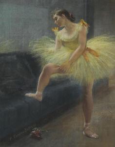 Belleuse Carrier Pierre The Dancer Canvas Print 16 x 20   #5619