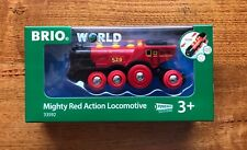 BRIO 33592 Mighty Red Action Locomotive train.Brand new. Free Post with tracking