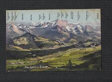 Dachstein Gebret  vintage  postcard  f151