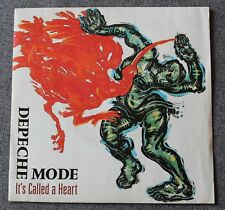 Depeche Mode, it's called a heart / fly on the ....  , SP - 45 tours label bleu