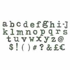 Sizzix Bigz XL Alphabet Die Cutter typo Lower Case 661176