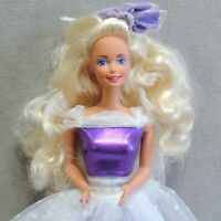 Barbie 1990s Doll Clothes Fashion Dress Exclusive K-Mart PRETTY in PURPLE