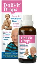 Dalivit Drops Multivitamin Drops For Babies and Toddlers 50ml