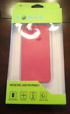 Protective iPhone 5 Red Case Brand New In Package.