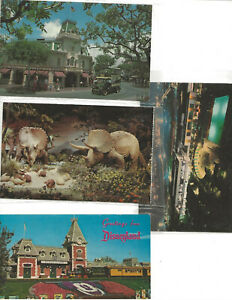 Disneyland Postcard Lot