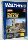 Walthers 933-3024 Milwaukee Beer and Ale Brewery Kit HO Scale Train