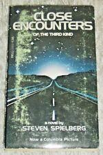 CLOSE ENCOUNTERS by Steven Spielberg, Vintage 1978 Science Fiction PB