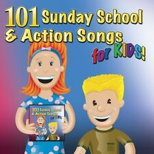 101 Sunday School & Action Songs For Kids - Mansion Entertainme (2013, CD NIEUW)