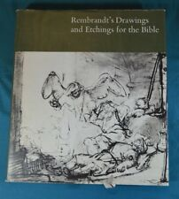 Rembrandt's Drawings and Etchings for the Bible Pilgrim Press 1969 Hardcover